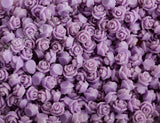 LAVENDER PURPLE 7mm Teeny Tiny Flower Cabochons - WhimsyandPOP