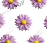 PURPLE 22mm Gerber Daisy Flower Cabochons - WhimsyandPOP