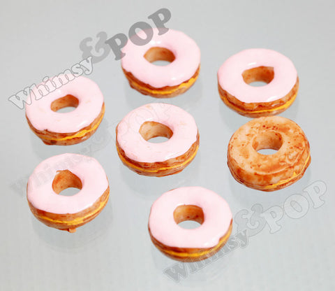 Pink Icing Donut Cabochons