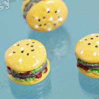 Fast Food Hamburger Cabochons - WhimsyandPOP