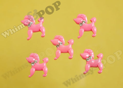 Pink Poodle Cabochons - WhimsyandPOP