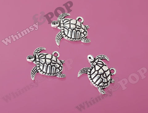 Swimming Tortoise Charms - WhimsyandPOP