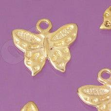 Butterfly Gold Tone Charms - WhimsyandPOP