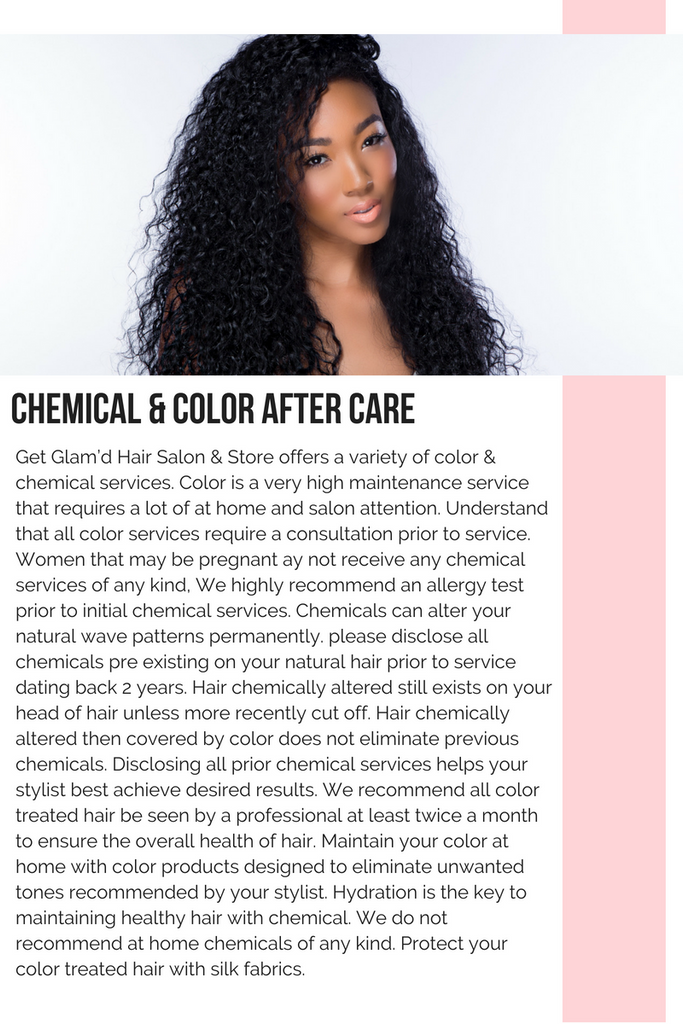 color get glamd hair salon book appointment relaxer perm weave hair care