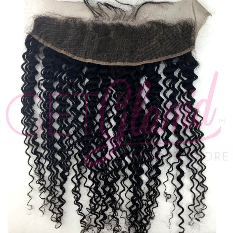 Deep Curly Lace Frontal - Getglamdhair