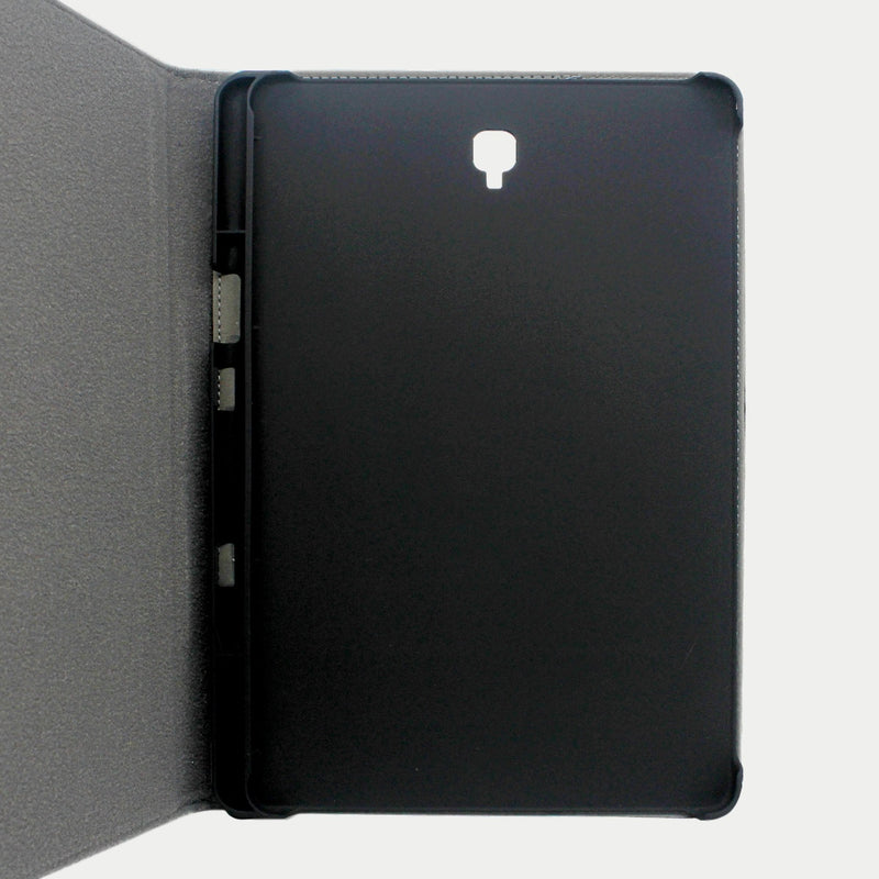 Galaxy Tab S4 Case | Genuine Top Grain Cowhide Leather - Black
