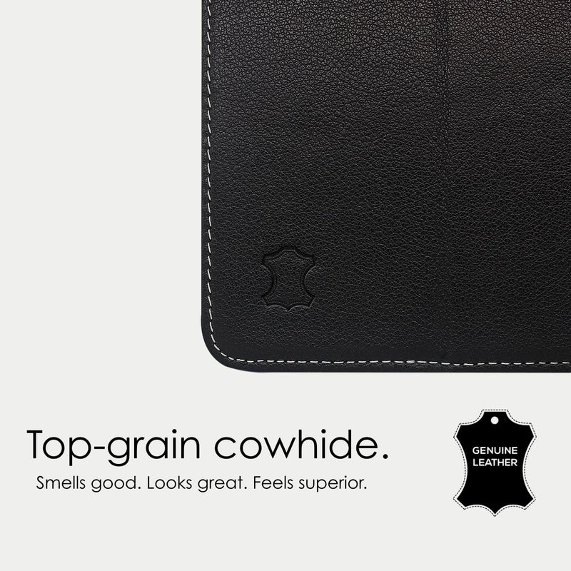 iPad Air 3 Case | Genuine Top-Grain Cowhide Leather - Black