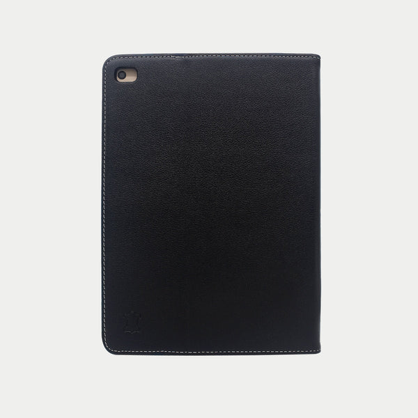 iPad Mini 5 Case | Genuine Top-Grain Cowhide Leather - Black