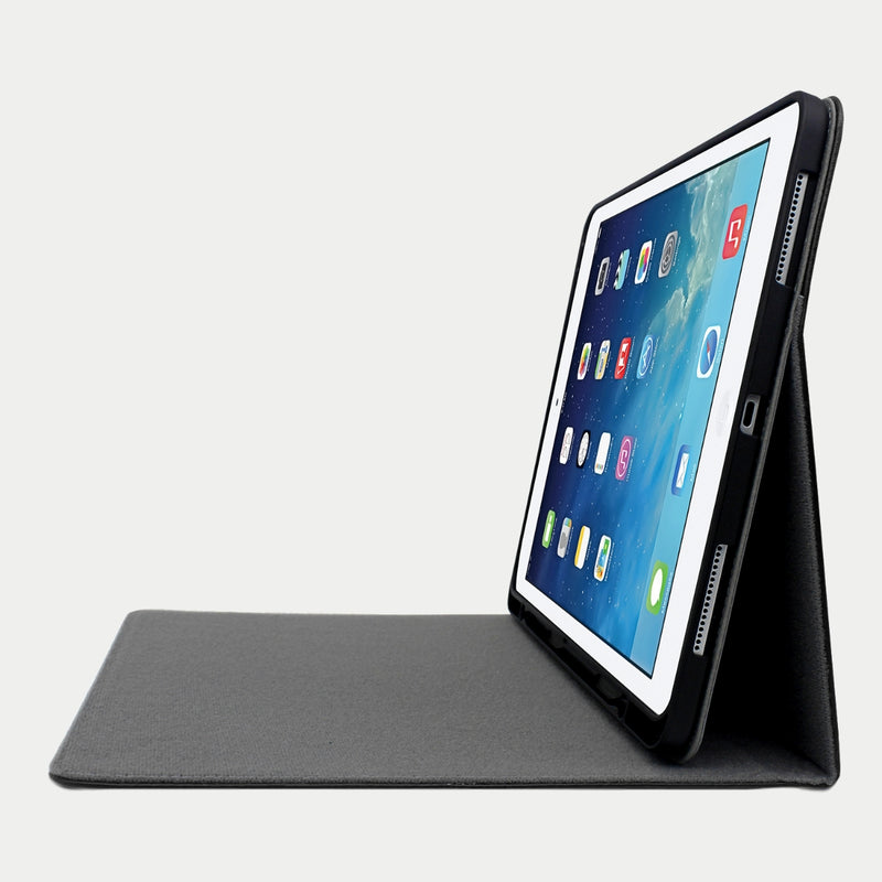 iPad Pro 11 Case | Genuine Top-Grain Cowhide Leather - Black