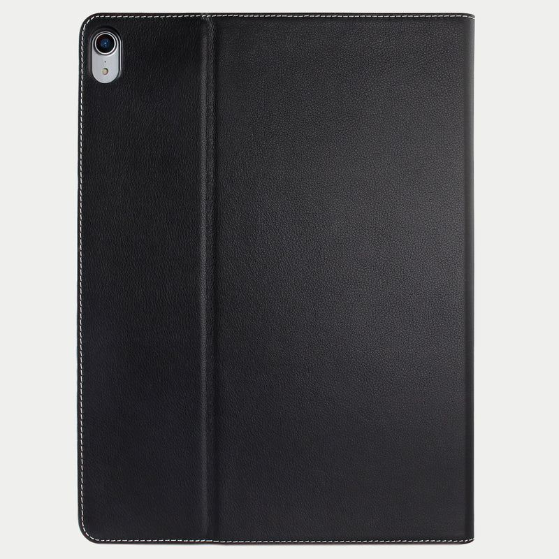 iPad Pro 12.9 Case 2018 | Genuine Top-Grain Cowhide Leather - Black
