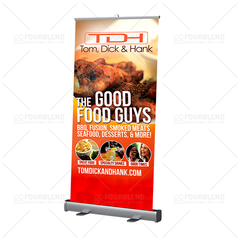 Retractable Banner Stand - design