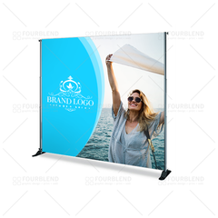 8'x 8' Backdrop + Stand - print