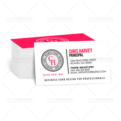 "2"" x 3.5"" Spot UV Business Card (print)"
