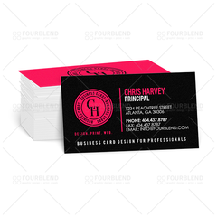 "2"" x 3.5"" Silk Business Card (print)"