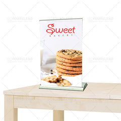 "8.25"" X 12"" Tabletop Retractable Banner Stand (print)"