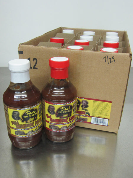 Case of Barbecue Sauce Mixed