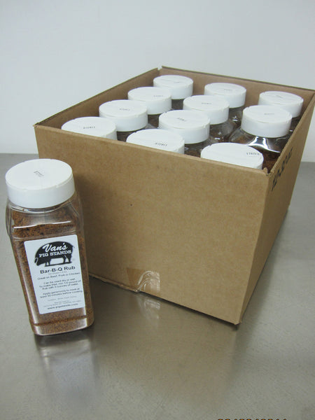 Case of Small Rub Shakers