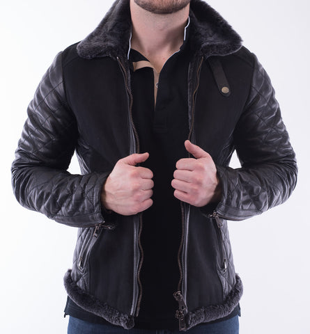 Dibello Shearling Jacket