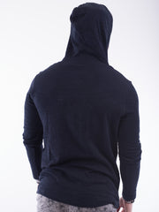 Stitch Note Hooded Sweater