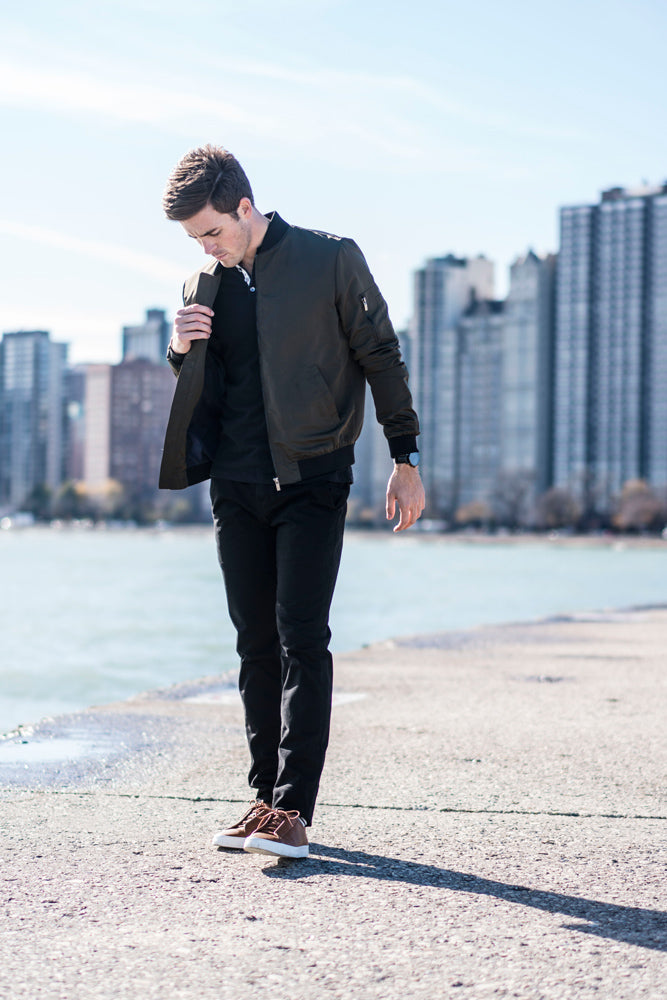 GQ Insider, GQ, Menswear, Mens fashion, black pants, Chicago, Kodenko Jeans, Kodenko