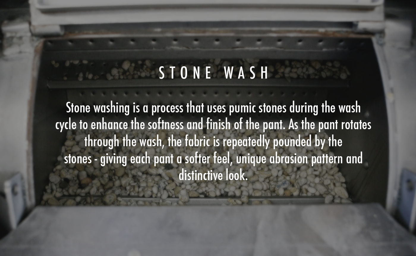 Stone Washing Pants