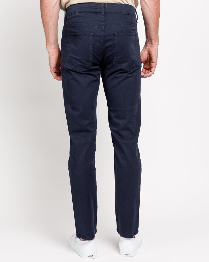 The Leo Slim Fit in Italian Twill - Navy