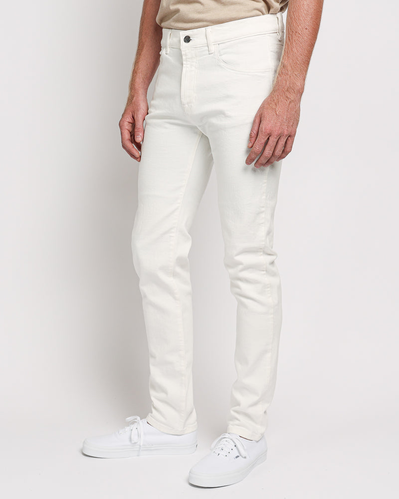 The Leo Slim-Fit jeans in Italian Denim - Off White