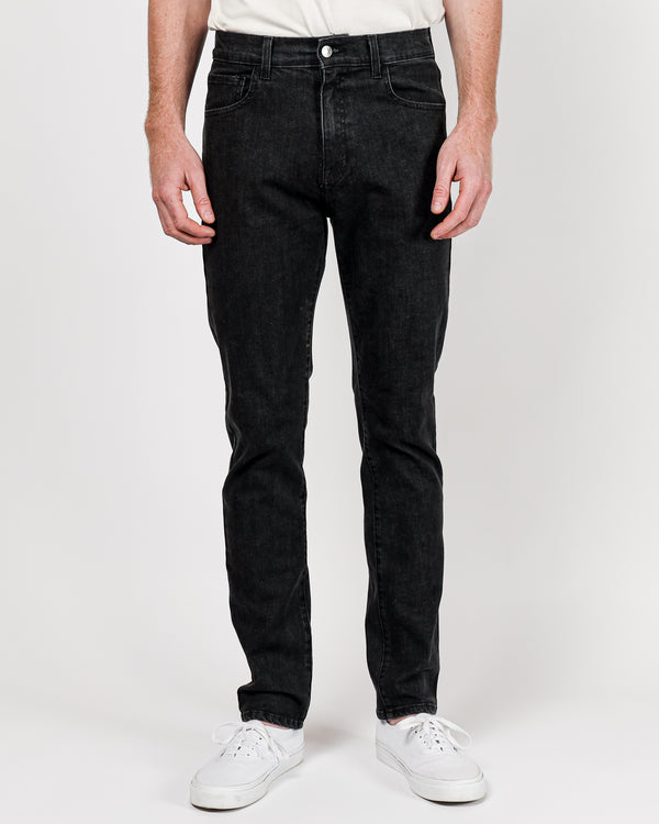 The Leo Slim Fit Jean Stonewashed in Cone Denim