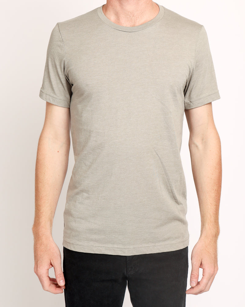 Crew neck Tee in Neutral