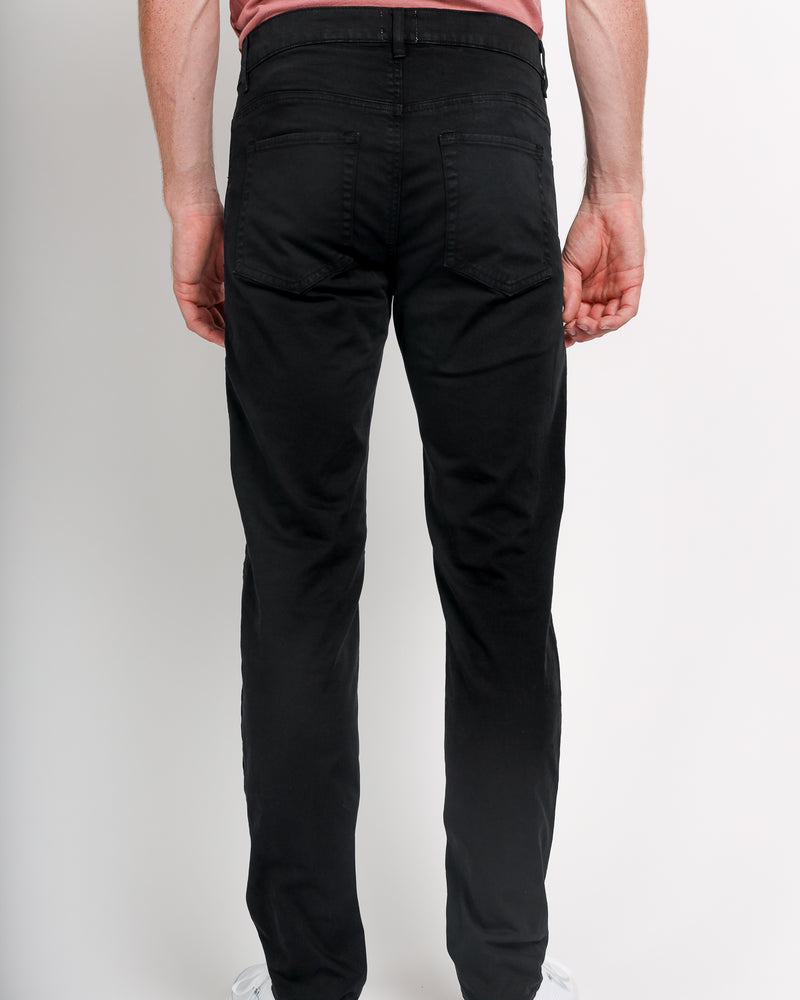 The Leo in Italian Twill - Black
