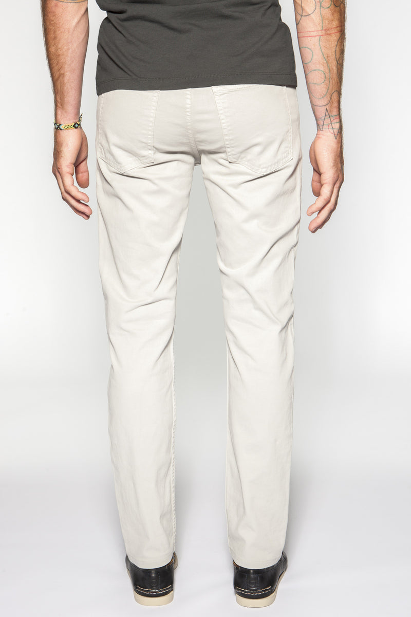 The Leo Slim Fit in Italian Twill - Dove Gray