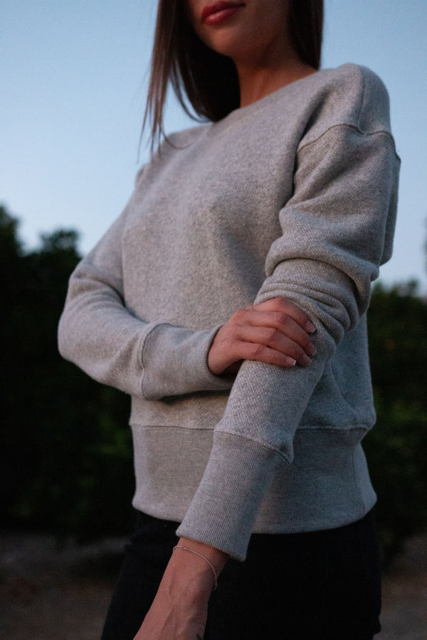 THE OJAI CROPPED SWEATSHIRT