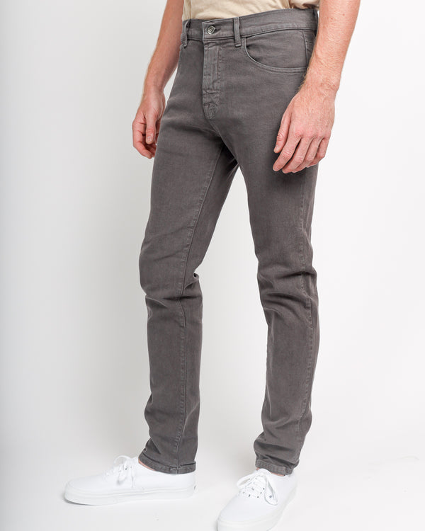 The Leo Slim Fit Jean in Italian Denim - Grey