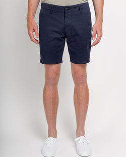 The Rufina Slim-Fit Shorts in Italian Twill - Navy
