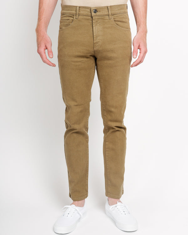 The Leo Slim-Fit jeans in Italian Denim - Olive