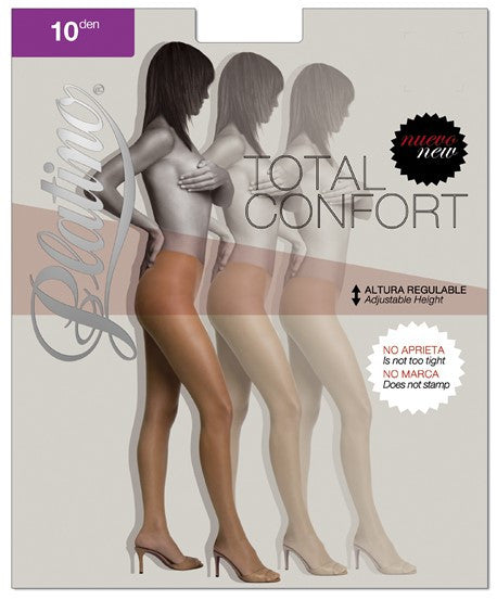 PLATINO TOTAL CONFORT 10 Den PANTYHOSE