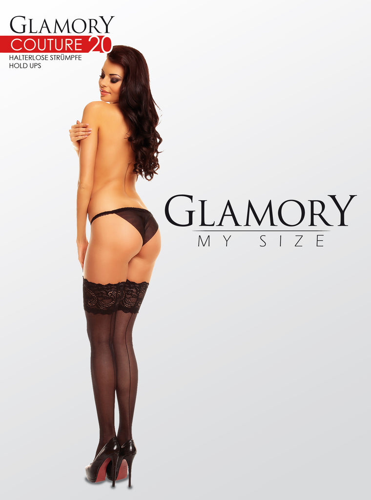 Glamory My Size Couture 20 Thigh Highs