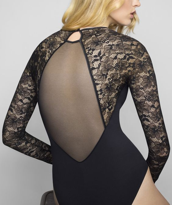 Le Bourget Allure Lace Long Sleeve Body Wear
