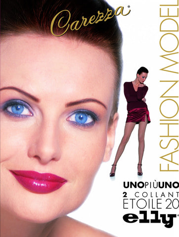 Elly Carezza Soleil 40 UNOPIÙUNO   2 PAIRS OF Pantyhose
