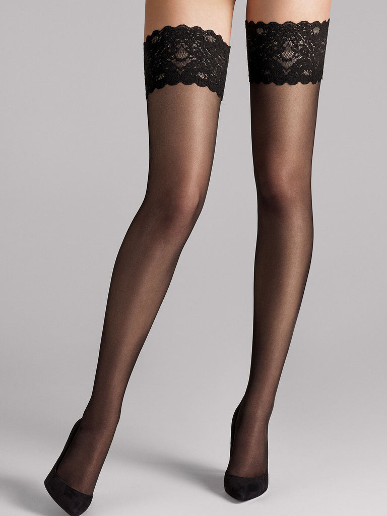 Wolford Satin Touch 20 Thigh Highs