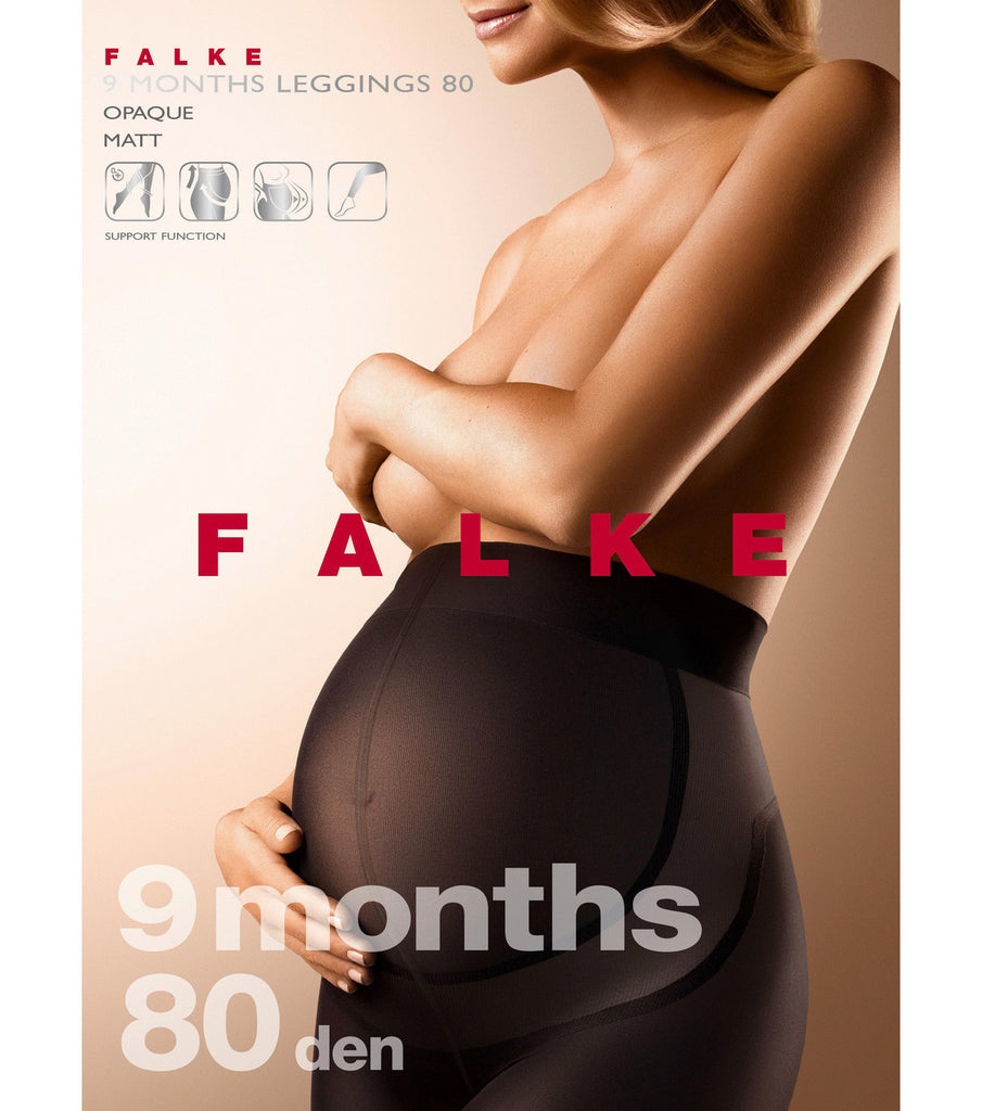 FALKE 9 Months 80 DEN Women Leggings