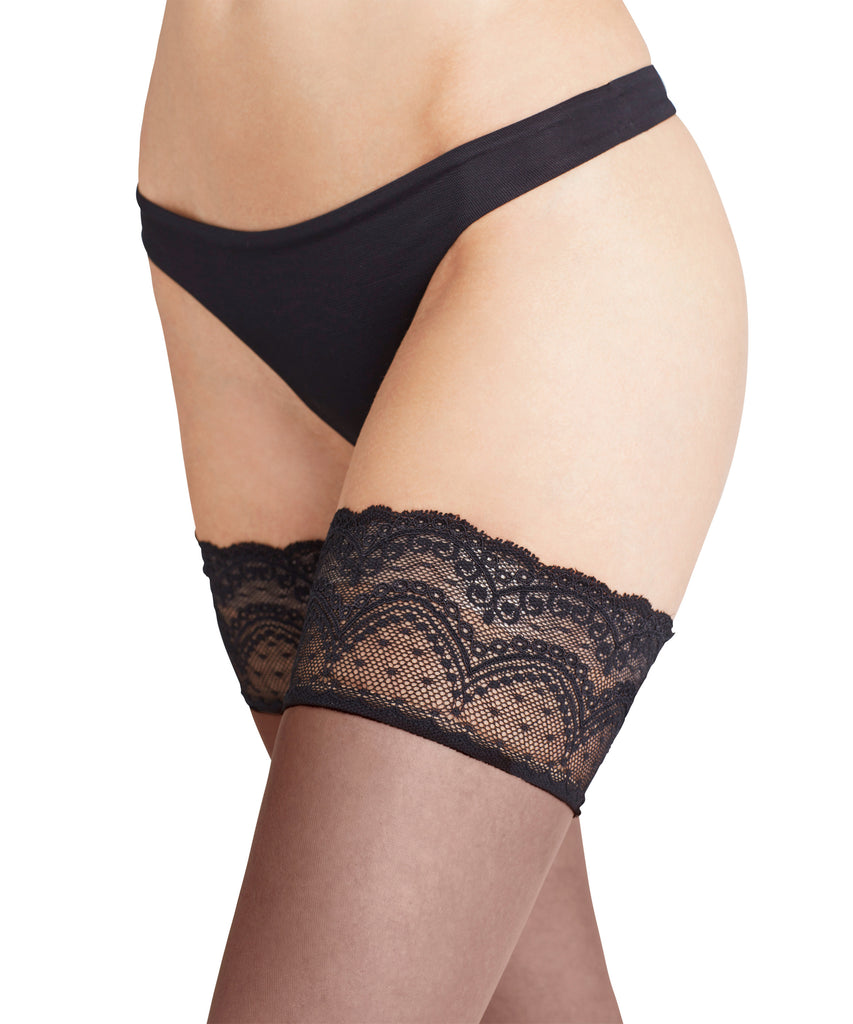 FALKE Invisible Deluxe 8 Lace Thigh Highs
