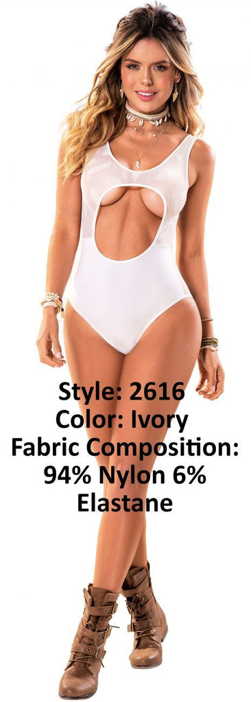 Mapale 2616 Bodysuit Color Ivory