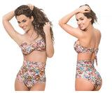 Mapale 6854 Classic High Waist Multi-colored