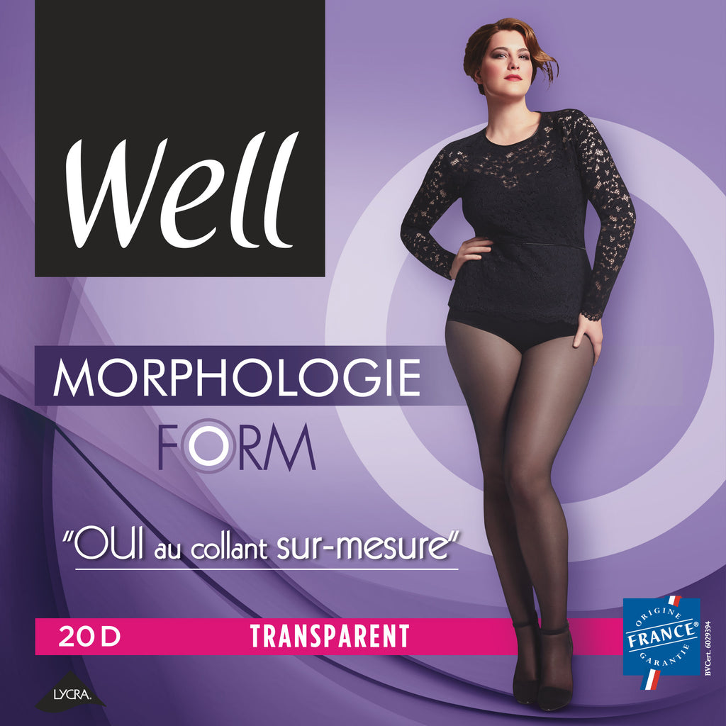 Well Morphology Form Pantyhose