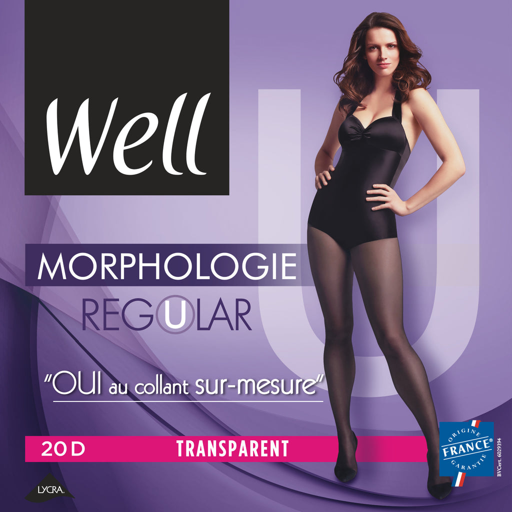 Well Morphology Regular Pantyhose