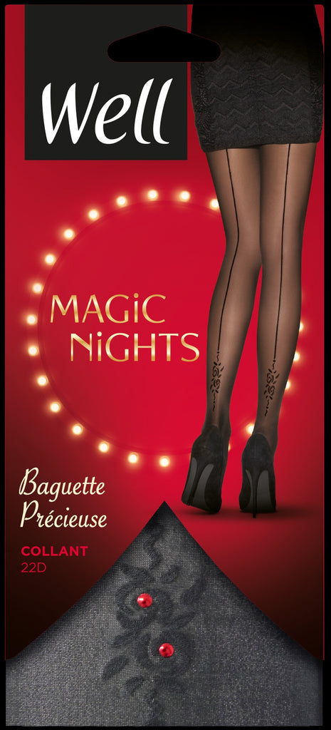 Well Magic Nights Baguette Precieuse Pantyhose