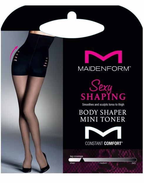 Maidenform Sexy Shaping Body Shaper Mini Toner Pantyhose