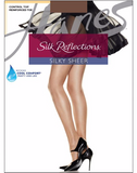 Hanes Silk Reflections Control Top Reinforced Toe Pantyhose