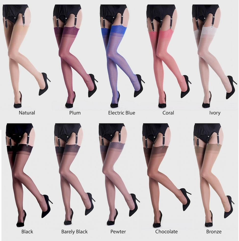 Gio Stockings RHT 15 Den Non-Stretch
